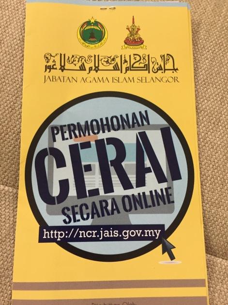 Permohonan Cerai Online